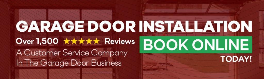 book online garage door installation