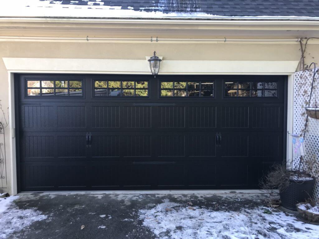 Black Garage Doors Are Trendy