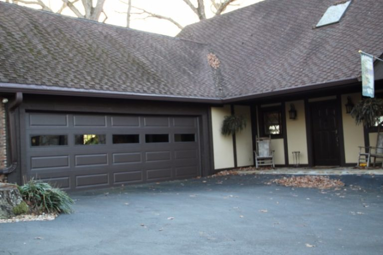 Brown Traditional Garage Door