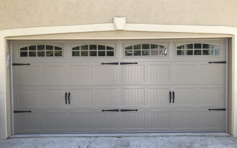 16×7 CHI 5251 Insulated Carriage Stamp Garage Door