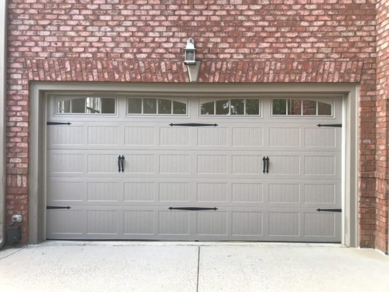 CHI Sandstone Garage Door