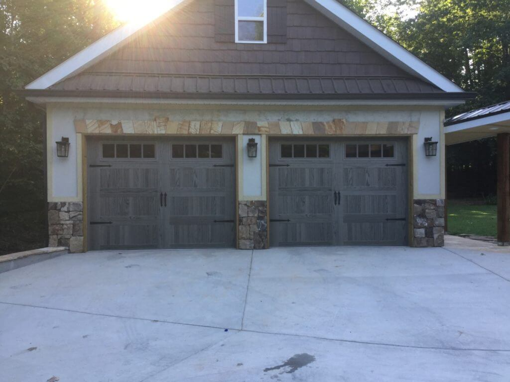 Carriage-Wood-Tone-Garage-Door-Flowery-Branch