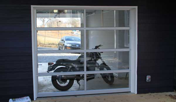 Modern Glass Garage Door Atlanta