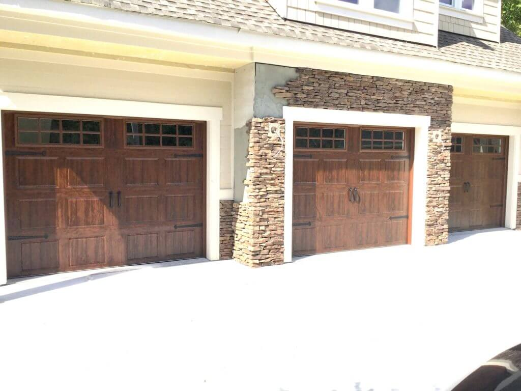 Faux-Wood-Garage-Doors