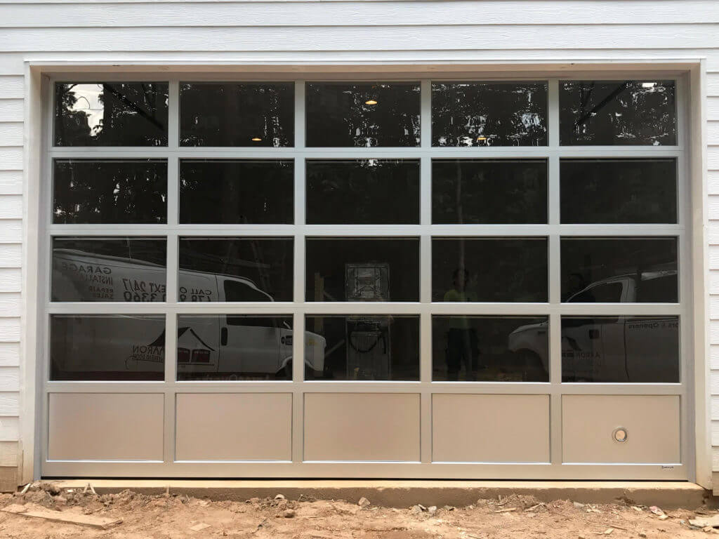 Glass & Aluminum Garage Door