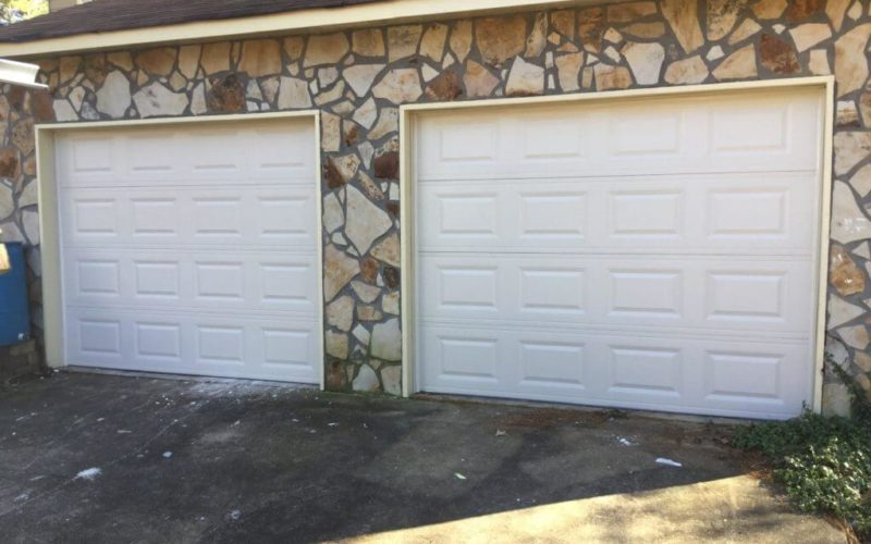 Replacing Wood Garage Door For Steel